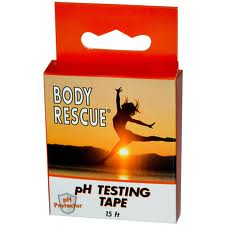 Body Rescue pH Testing Tape, 15 Feet