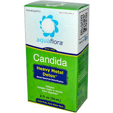 Aquaflora Candida Heavy Metal Detox, 2 oz