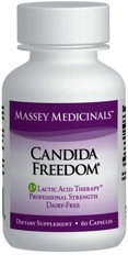 Massey Medicinals Candida Freedom, 60 caps
