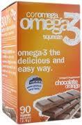 Coromega Omega-3, 90 Packets, Chocolate Orange Flavor