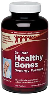 Dr. Rath Healthy Bones Synergy Formula, 120 tabs
