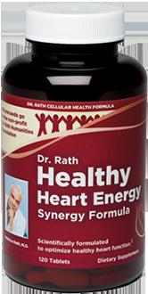 Dr. Rath Healthy Heart Energy Synergy Formula, 120 tabs