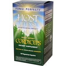 Fungi Perfecti Host Defense Cordyceps, 60 caps
