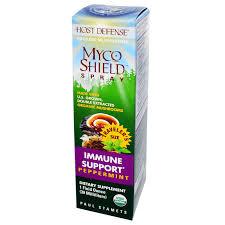 Fungi Perfecti Host Defense Myco Shield Spray, 1 fl oz. Peppermint