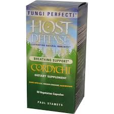 Fungi Perfecti Host Defense CordyChi, 60 caps