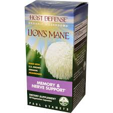 Fungi Perfecti Host Defense Lion's Mane, 60 Caps