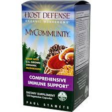 Fungi Perfecti Host Defense MyCommunity, 60 caps