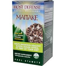 Fungi Perfecti Host Defense Maitake, 60 caps