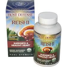 Fungi Perfecti Host Defense Reishi, 120 caps
