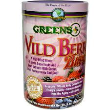 Greens Plus Wild Berry Burst, 9.4oz