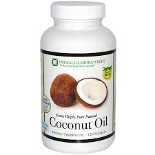 Emerald laboratories Coconut Oil Softgels, 120 gelcaps