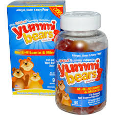 Hero Yummi Bears Multi-Vitamin & Mineral, 200 Gummy Bears