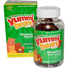 Hero Yummi Bears Wholefood, 200 Gummy Bears