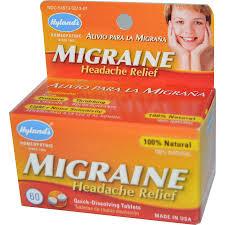 Hyland's Migraine Headache Relief, 60 tabs