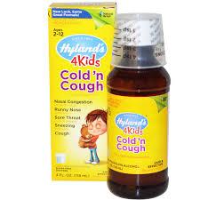 Hyland's  Cold'n Cough 4 Kids, 4 fl oz