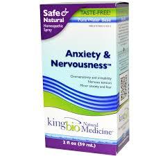 King Bio Anxiety & Nervousness, 2 fl oz