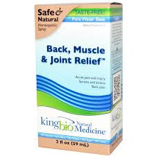 King Bio Back, Muscle, & Joint Relief, 2 fl oz