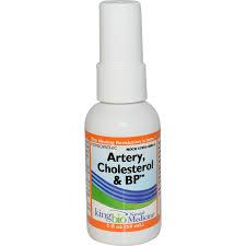 King Bio Artery, Cholesterol & BP, 2 fl oz