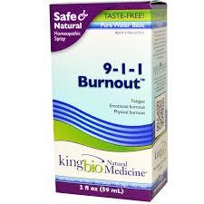 King Bio 9-1-1 Burnout, 2 fl oz