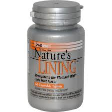 Lane Labs Nature's Lining, 60 Chewable tabs