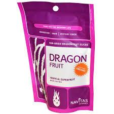 Navitas Naturals Dragonfruit Slices, 3oz