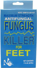 No-Miss Fungus Killer, 1 fl oz, for toes
