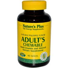 Nature's Plus Adult Chewable Multi Vitamin, 180 tabs