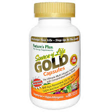 Nature's Plus Source of Life GOLD Capsules, 90 Vcaps