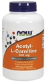 NOW Acetyl L-Carnitine, 500mg, 200 caps