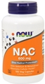NOW NAC 600mg, 100 Vcaps