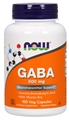 NOW GABA, 500 mg, 100 caps