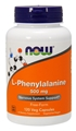 NOW L-Phenylalanine, 500mg, 120 caps