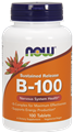 NOW   Vitamin B-100 Sustained Release - 100 Tablets