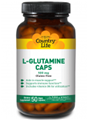 Country Life  L-Glutamine Caps 500 mg  100 Vcaps