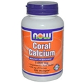 NOW Coral Calcium, 1000mg, 100 Vcaps