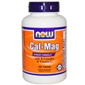 NOW Cal-Mag Stress Formula, 100 tabs