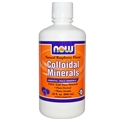 NOW Colloidal Minerals, Raspberry, 32 oz