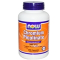 NOW Chromium Picolinate 200mcg 250 caps
