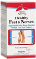 Europharma   Healthy Feet & Nerves  60 Caps