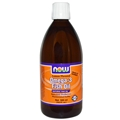 NOW Omega-3 Fish Oil, 16.9 fl oz, lemon Flavored