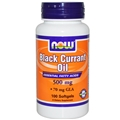 NOW Black Currant Oil, 500mg, 100 Softgels