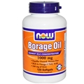 NOW Borage Oil, 120 softgels