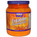 NOW Creatine Monohydrate Powder, 2.2lbs