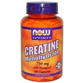 NOW Creatine Monohydrate, 750 mg, 120 caps