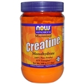 NOW Creatine, Micronized , 21.2 oz.