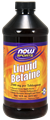 NOW -  Betaine, Liquid - 16 fl. oz.