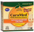 Europharma   CuraMed® Effervescent Tablets (350 mg)     30 Effervescent Tablets