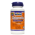 NOW Chlorella, 1000mg, 60 tabs