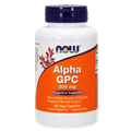 NOW Alpha GPC, 300 mg, 60 Vcaps
