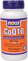 NOW COQ10 50mg, 200 Gels
